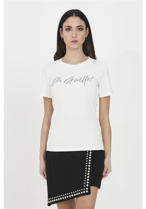 GAELLE   T-shirt   GBD7084OFF WHITE