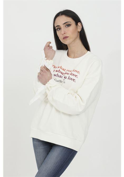 GAELLE   Sweatshirt   GBD7177OFF WHITE