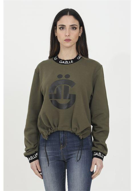 GAELLE | Sweatshirt | GBD7265VERDE OLIVA