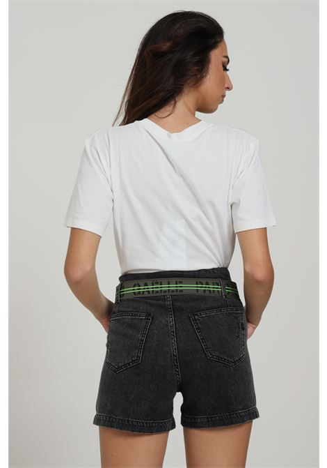 Short Con Banda Fluo GAELLE | Shorts | GBD7398NERO