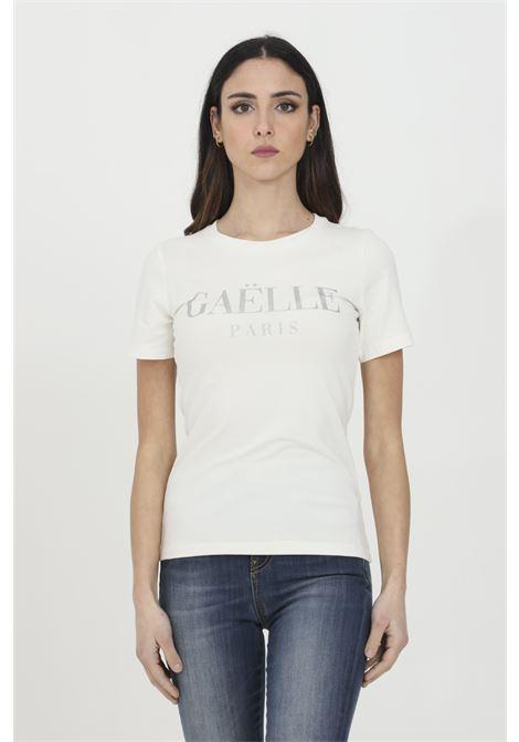 GAELLE   T-shirt   GBD8153OFF WHITE