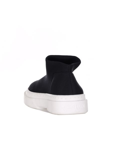 Sneakers Tinta Unita Con Logo Frontale GIOSELIN | Sneakers | LIGHT 230 BBLACK