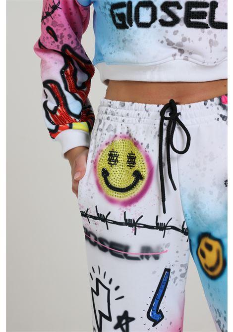 GIOSELIN   Pants   PANTA SMILEBIANCO