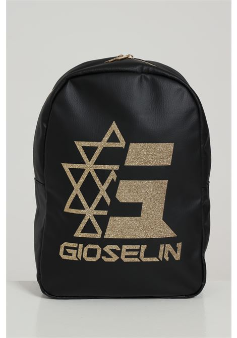 GIOSELIN | Backpack | ZAINONERO/GLITTER OR