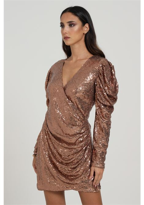 GLAMOROUS | Dress | AN3857BRONZE