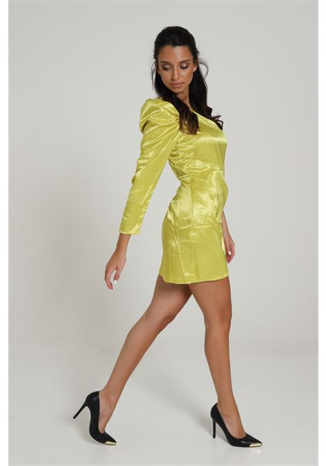 GLAMOROUS | Dress | GC0332LIME YELLOW