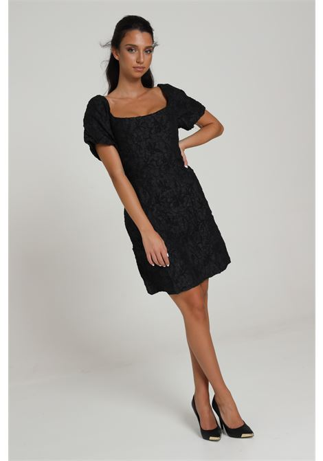 GLAMOROUS | Dress | KA6770BLACK TEXTURED