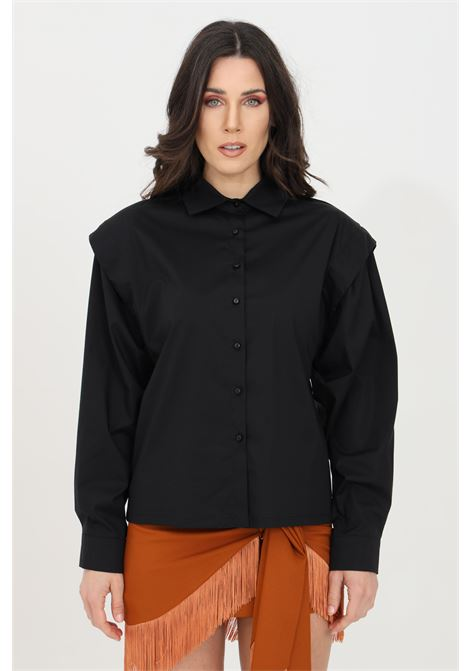 Over shirt with built-in straps HAVEONE | Shirt | CPA-D018NERO