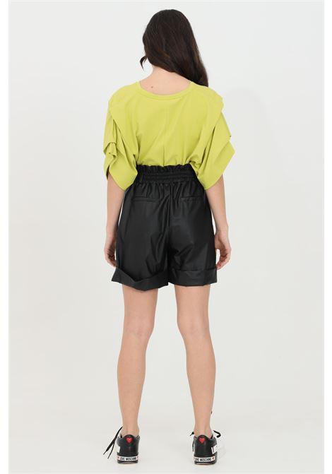 Shorts donna nero haveone casual a vita alta HAVEONE | Shorts | PPA-D044NERO