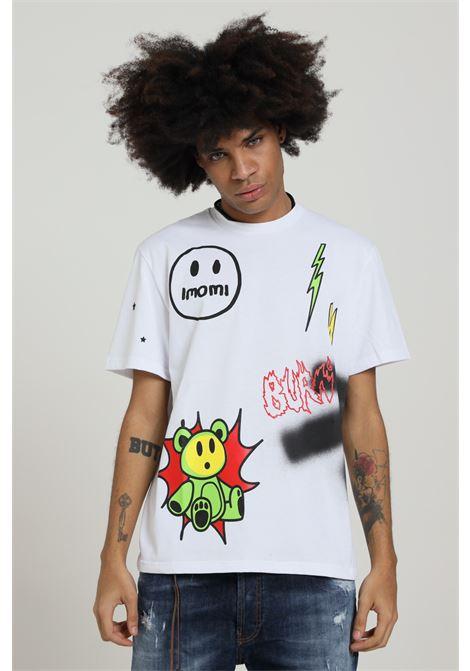 T-shirt Stampata Modello Comodo IMOMI | T-shirt | FW20IM0401