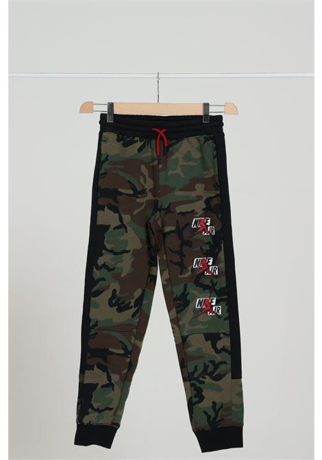 Pantalone Bambino Con Molla In Vita JORDAN | Pantaloni | 957530-E4FE4F