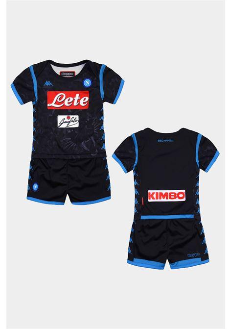 Completino calcio Napoli neonato KAPPA   Completini   3032UL0958