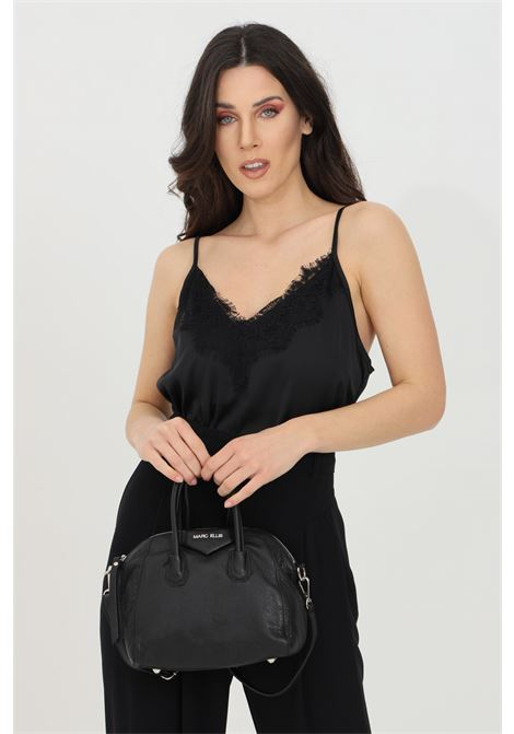 Blouses with lace and uncovered shoulders KONTATTO | Blouse | MU2031NERO