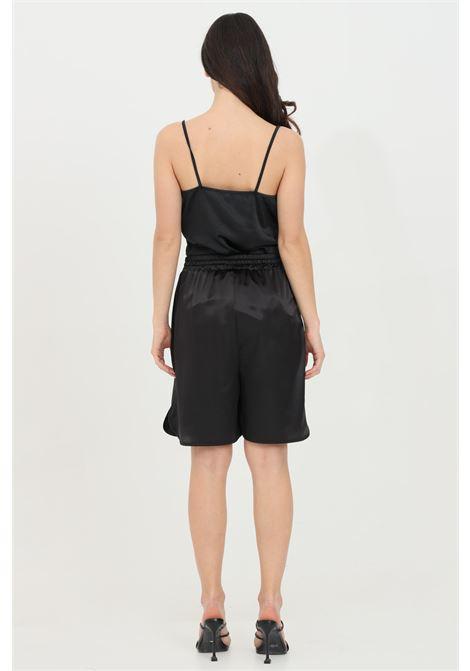 Shorts with waist elastic band and side pockets KONTATTO   Shorts   MU2033NERO