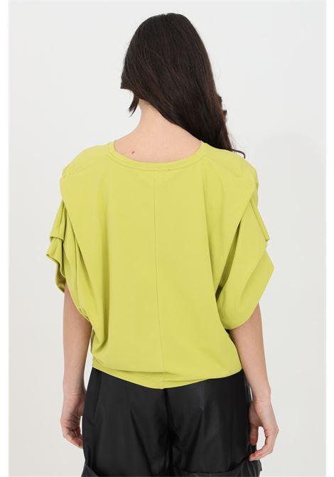 Acid women's t-shirt with short sleeves, short cut. Brand: Kontatto KONTATTO | T-shirt | TE513ACIDO