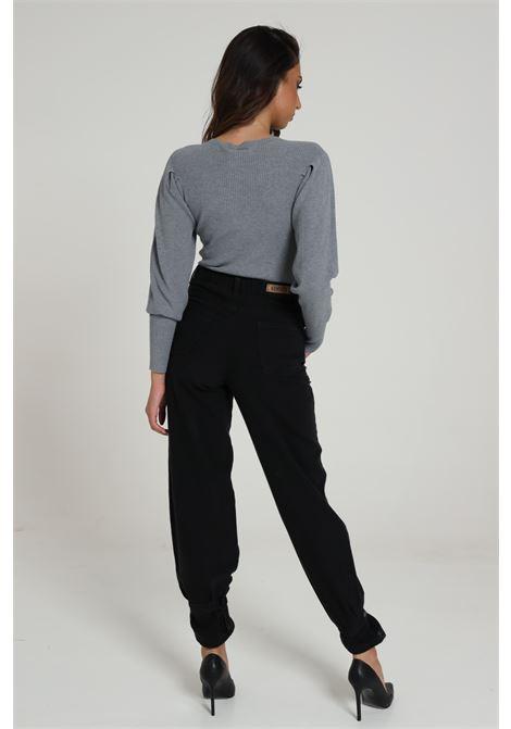 Jeans Con Fondo Ampio E Fasce KONTATTO | Jeans | TT800401