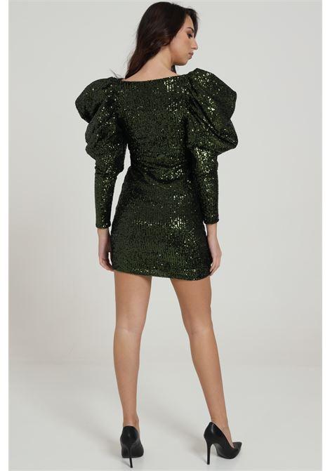 KOSTUMN1 | Dress | KI20225VERDE MILITARE