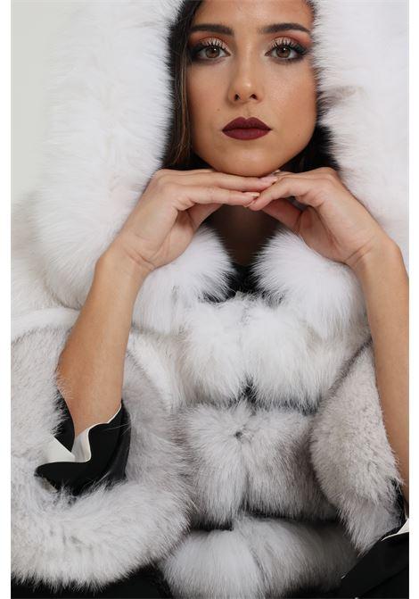 Pelliccia di Volpe bicolore LES NOIR | Pellicce | LNL653UNI