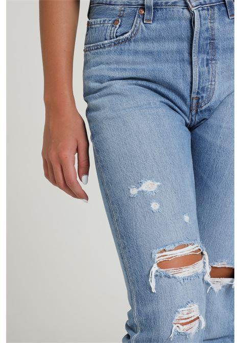 Jeans a vita alta con tagli LEVI'S | Jeans | 36200-01410141