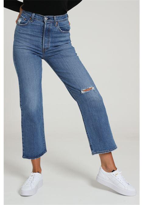 Jeans a vita alta con fondo flared LEVI'S | Jeans | 72693-00610061