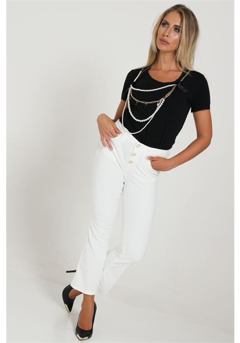 Pantalone Basic Wf0312t4590 LIU JO | Pantaloni | WF0312T459010701