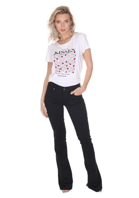 Pantalone A Zampa Vita Alta Wxx036t7144 LIU JO | Pantaloni | WXX036T714422222