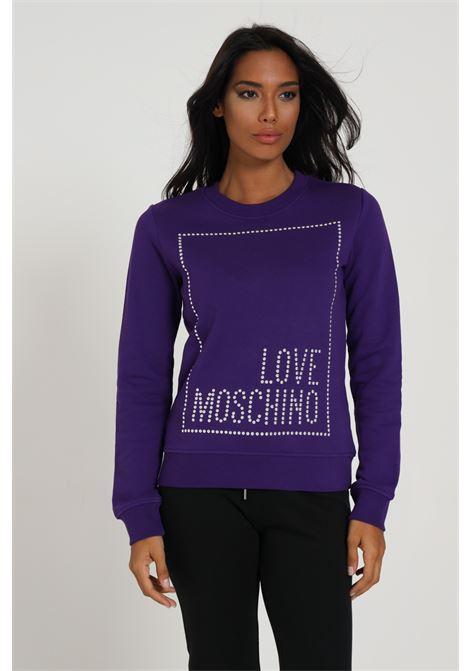LOVE MOSCHINO | Sweatshirt | W630216M4055V91