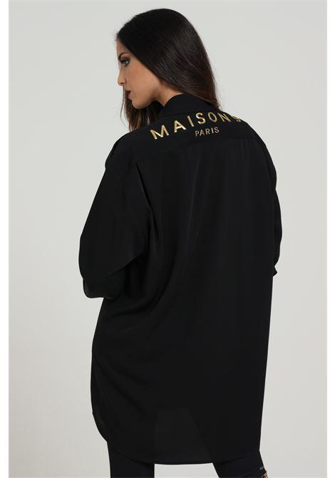 MAISON 9 PARIS D | Shirt | C678NERO/ORO