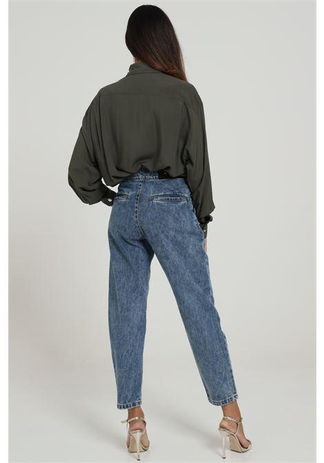Jeans con applicazioni e vita alta MAISON 9 PARIS D | Jeans | JO47DENIM