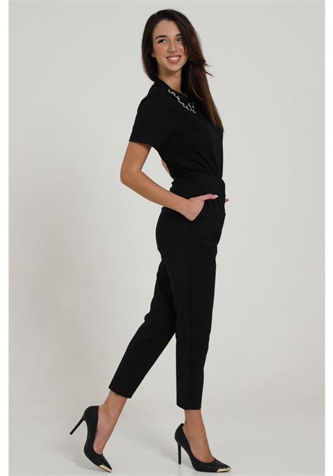 Pantalone Taglio Classico Vita Alta MAISON 9 PARIS D | Pantaloni | P644NERO