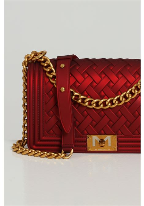 MARC ELLIS | Bag | FLAT BRAID MDARK RED