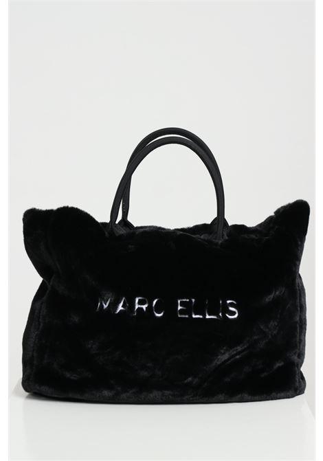 Shopper con manici MARC ELLIS | Borse | KETTYBLACK/WHITE