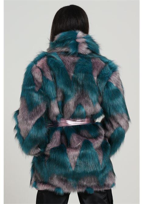 Pelliccia con cintura MARC ELLIS | Pellicce | WMEJK5846OT/VI