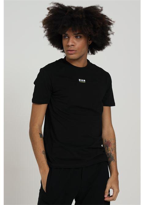 T-shirt Con Logo Frontale MSGM | T-shirt | MMM200010001