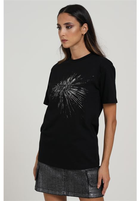 T-shirt Con Stampa NBTS | T-shirt | 001NERO/SILVER