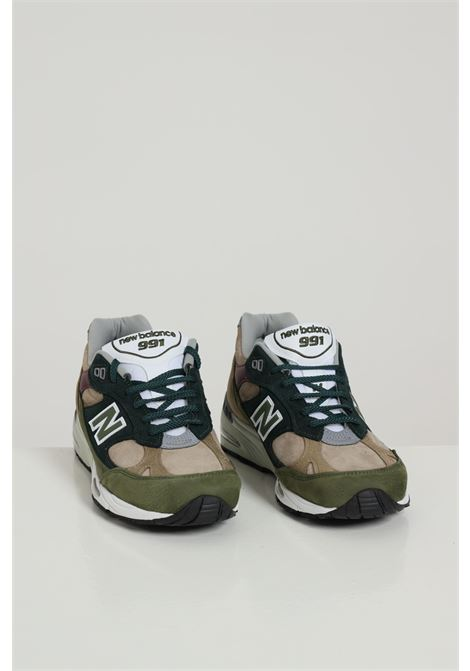 Lifestyle-new Balance NEW BALANCE | Sneakers | M991NTGGREEN/RED