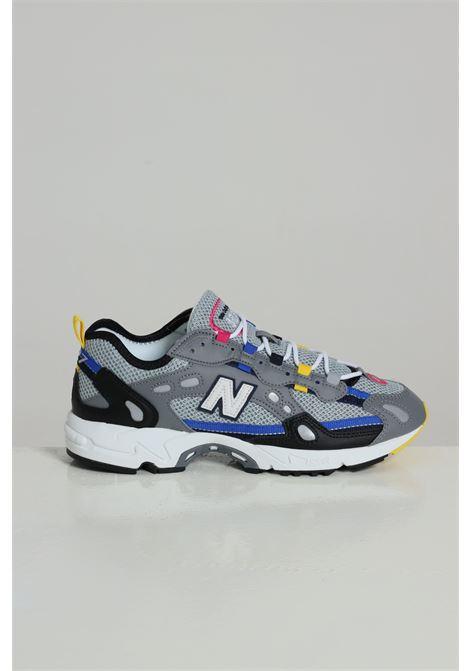 Sneakers Bassa Logata Ml827aaqd12 NEW BALANCE | Sneakers | ML827AAQD12BLACK/GREY/BL