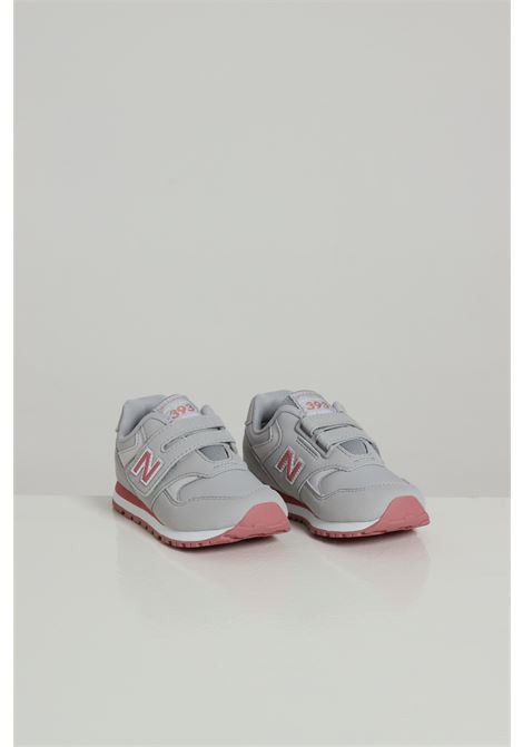 NEW BALANCE | Sneakers | YV393CGPGREY/PINK
