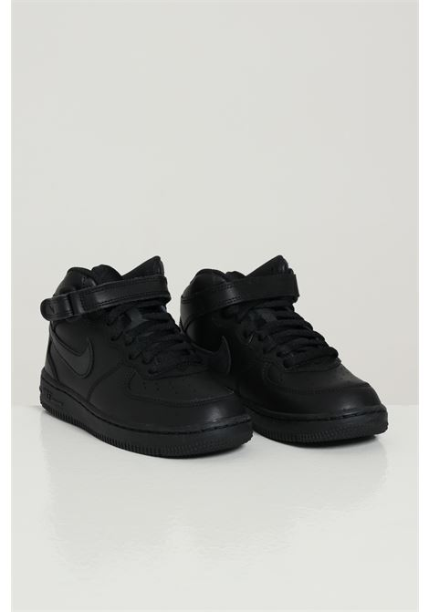 Black sneakers with tone on tone logo. Baby model. Brand: Nike NIKE | Sneakers | 314196004