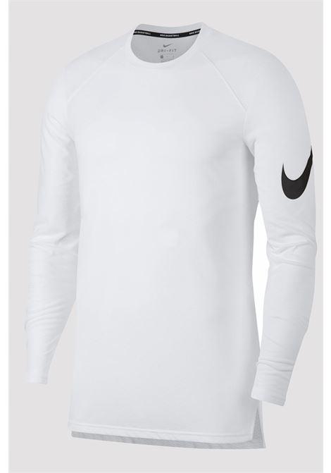 T-shirt Nike bianca con manica lunga NIKE | T-shirt | 891601100