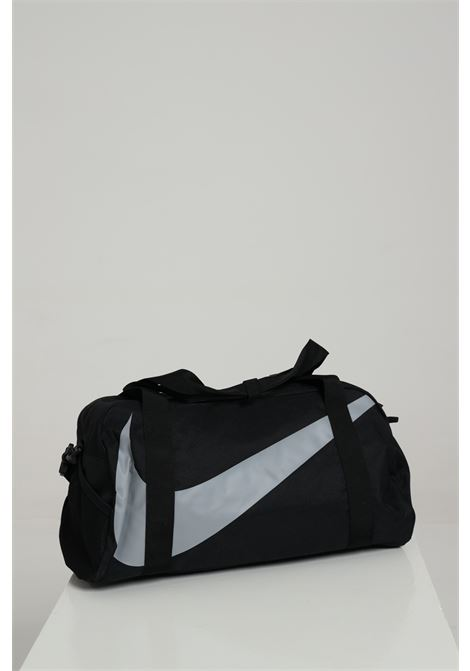 Sport bag unisex nero nike borsone palestra con maxi logo a contrasto NIKE | Sport Bag | BA5567010
