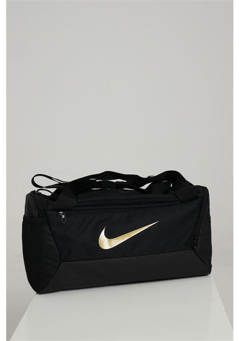 Sport bag unisex nero nike borsone palestra con logo oro a contrasto NIKE | Sport Bag | BA5957013