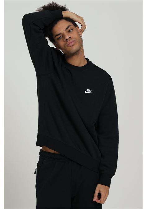 Black sweatshirt with front logo. Nike NIKE | Sweatshirt | BV2662010