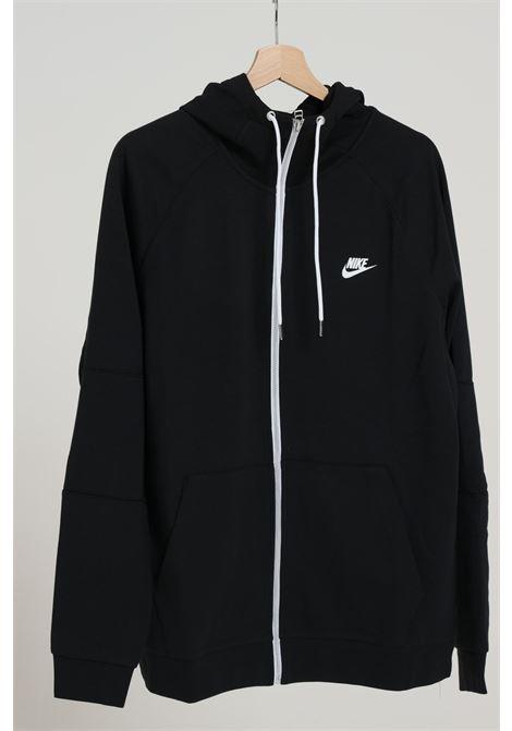 Felpa uomo nero nike con zip NIKE | Felpe | CU4455010
