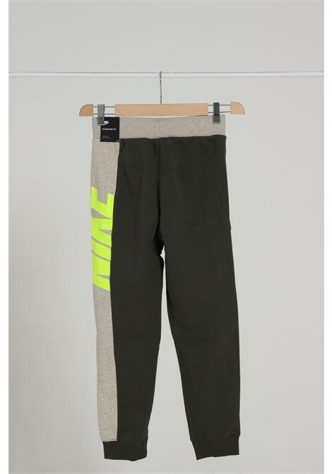 Pantalone Logato Bicolore Con Molla In Vita NIKE | Pantaloni | CU9211325