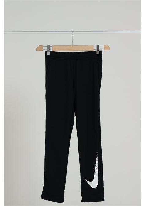 Pantalone Logato Tinta Unita Con Molla In Vita NIKE | Leggings | CZ3948010