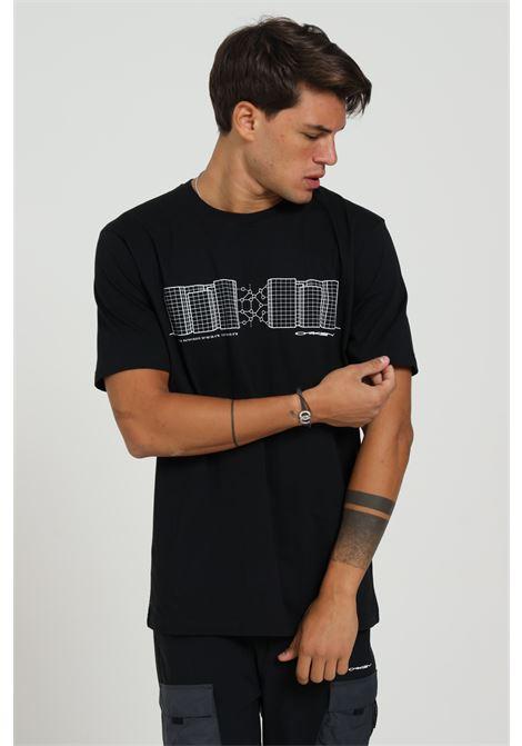 T-shirt Con Stampa Frontale Modello Comodo OAKLEY | T-shirt | FOA40156402E