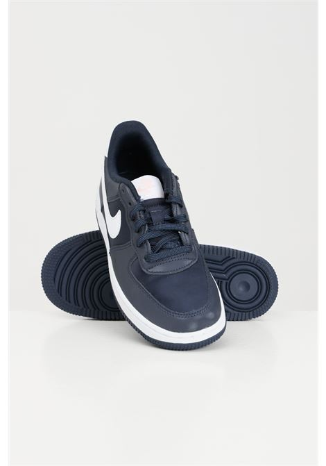 Blue unisex sneakers with contrasting logo nike OUTLET | Sneakers | ART65.