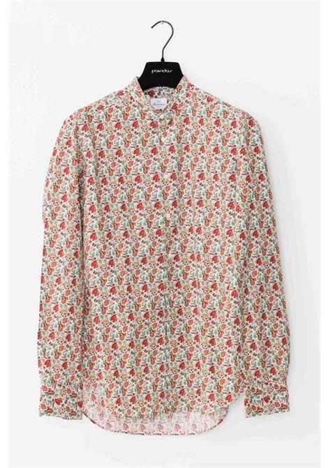 Camicia uomo multicolor brancaccio caruso elegante BRANCACCIO CARUSO | Camicie | ART99.