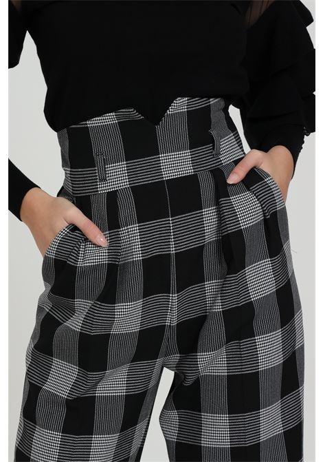 Pantalone Con Stampa A Quadri Simona Corsellini SIMONA CORSELLINI | Pantaloni | A20CMPAR02-010003